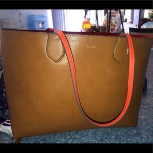 Aldo tan tote bag